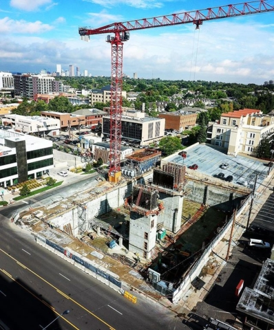 An updated look at the progress of the Cherry Creek Medical Center. One month from today, we will start framing level 1. Only four more PT deck pours until we get there.
